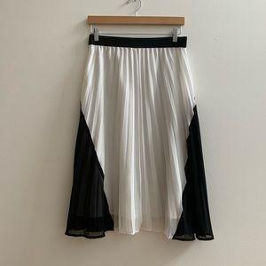 Chelsea 28 mindi pleated skirt XS